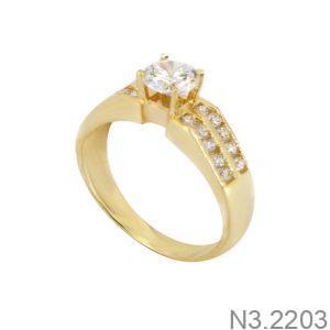 Nhẫn Kiểu Nữ APJ Vàng 18k - N3.2203