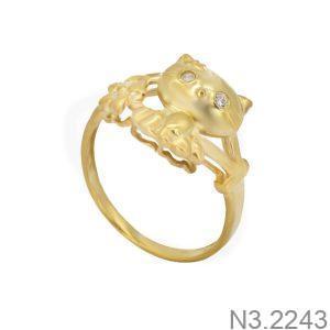 Nhẫn Nữ Vàng 18K Đính Đá CZ - N3.2243