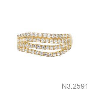 Nhẫn Nữ Vàng 18K Đính Đá CZ - N3.2591