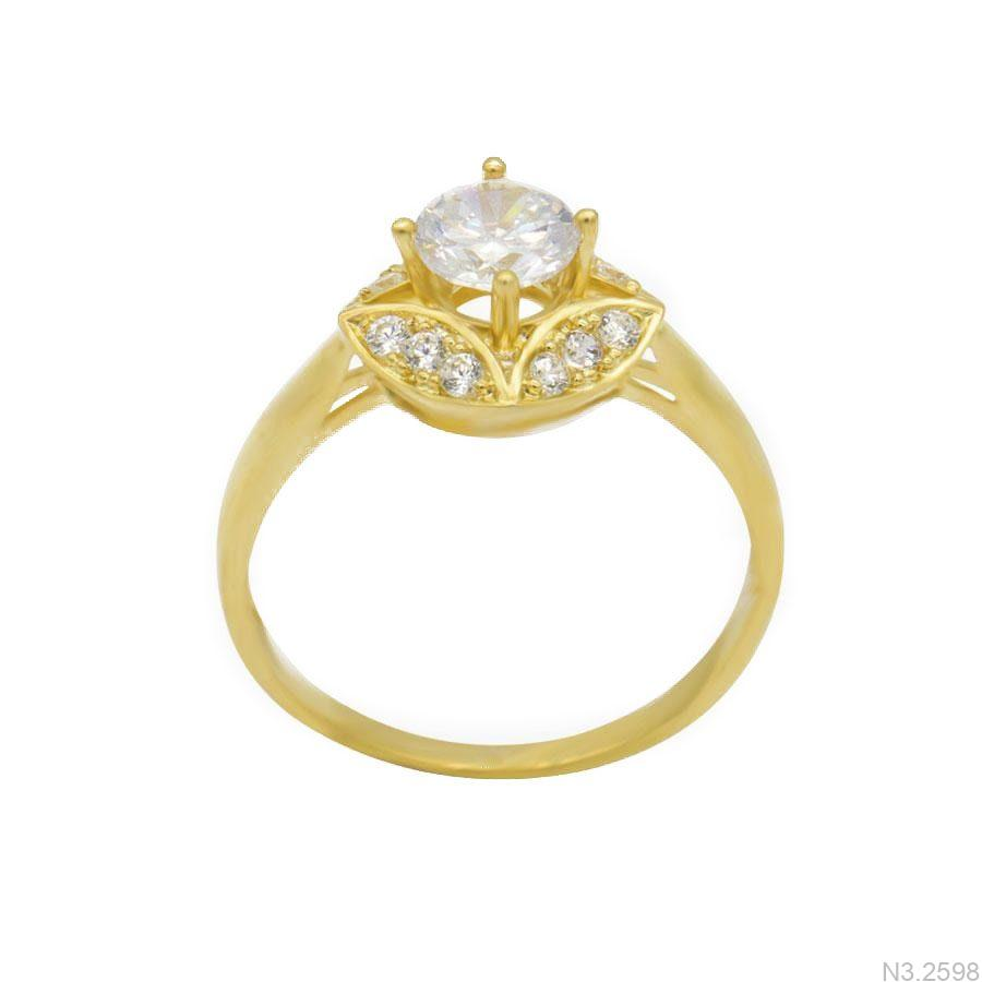 Nhẫn Nữ Vàng 18K Đính Đá CZ - N3.2598