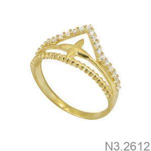 Nhẫn Kiểu Nữ APJ Vàng 18k - N3.2612