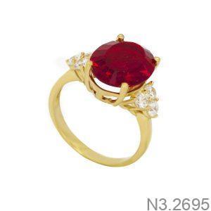 Nhẫn Nữ Vàng 18K Đính Đá CZ - N3.2695