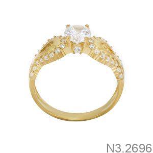 Nhẫn Nữ Vàng 18K Đính Đá CZ - N3.2696