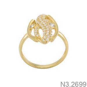 Nhẫn Nữ Vàng 18K Đính Đá CZ - N3.2699