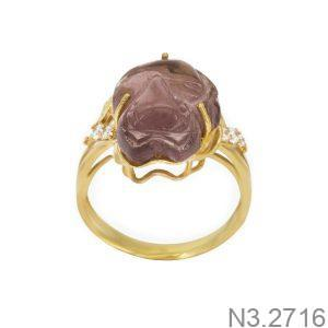 Nhẫn Nữ Vàng 18K Đính Đá CZ - N3.2716