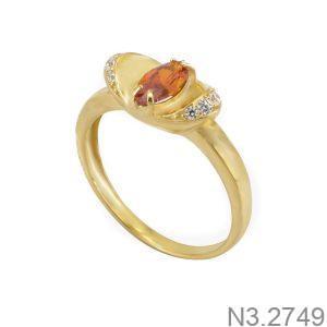 Nhẫn Nữ Vàng 18K Đính Đá CZ - N3.2749