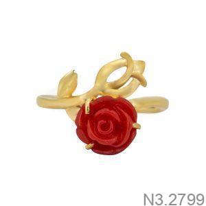 Nhẫn Nữ Vàng 18K Đính Đá CZ - N3.2799