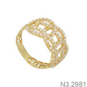 Nhẫn Nữ Vàng 18K Đính Đá CZ - N3.2981