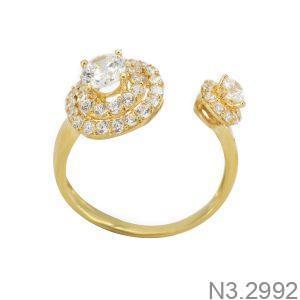 Nhẫn Nữ Vàng 18K Đính Đá CZ - N3.2992