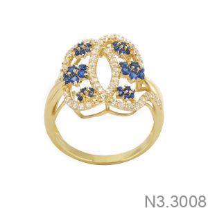 Nhẫn Nữ Vàng 18K Đính Đá CZ - N3.3008