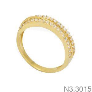 Nhẫn Nữ Vàng 18K Đính Đá CZ - N3.3015