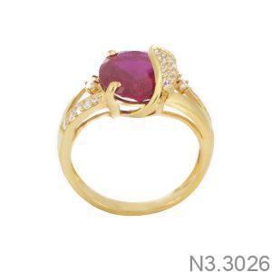 Nhẫn Nữ Vàng 18K Đính Đá CZ - N3.3026