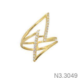 Nhẫn Nữ Vàng 18K Đính Đá CZ - N3.3049