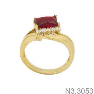 Nhẫn Nữ Vàng 18K Đính Đá CZ - N3.3053