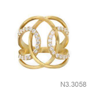 Nhẫn Nữ Vàng 18K Đính Đá CZ - N3.3058