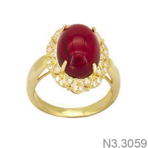 Nhẫn Nữ Vàng 18K Đính Đá CZ - N3.3059