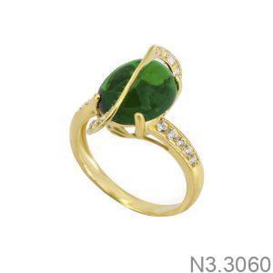 Nhẫn Nữ Vàng 18K Đính Đá CZ - N3.3060