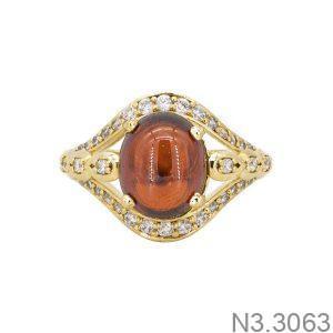 Nhẫn Nữ Vàng 18K Đính Đá CZ - N3.3063
