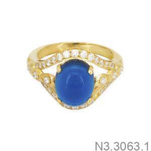 Nhẫn Nữ Vàng 18K Đính Đá CZ - N3.3063.1