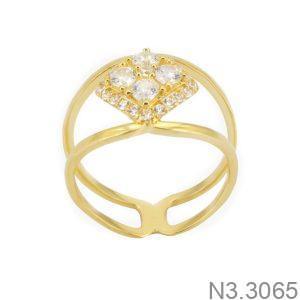 Nhẫn Nữ Vàng 18K Đính Đá CZ - N3.3065