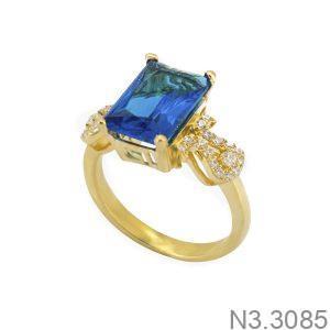 Nhẫn Nữ Vàng 18K Đính Đá CZ - N3.3085