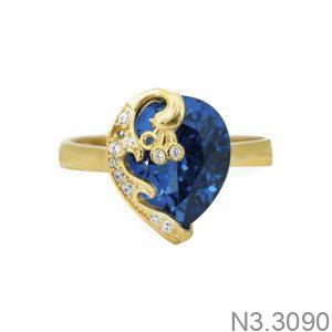 Nhẫn Nữ Vàng 18K Đính Đá CZ - N3.3090