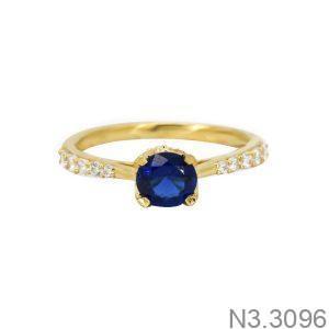 Nhẫn Nữ Vàng 18K Đính Đá CZ - N3.3096