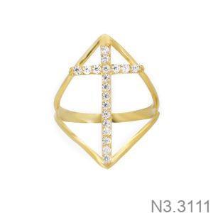 Nhẫn Nữ Vàng 18K Đính Đá CZ - N3.3111