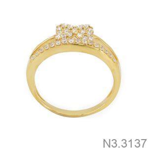 Nhẫn Nữ Vàng 18K Đính Đá CZ - N3.3137