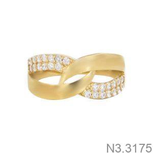 Nhẫn Nữ Vàng 18K Đính Đá CZ - N3.3175