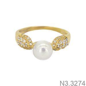Nhẫn Nữ Vàng 18K Đính Đá CZ - N3.3274