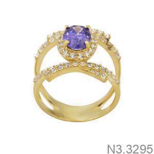 Nhẫn Nữ Vàng 18K Đính Đá CZ - N3.3295