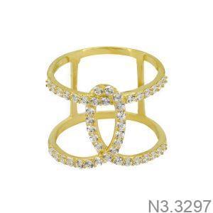 Nhẫn Nữ Vàng 18K Đính Đá CZ - N3.3297