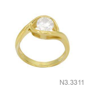 Nhẫn Nữ Vàng 18K Đính Đá CZ - N3.3311
