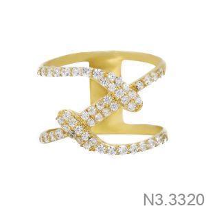 Nhẫn Nữ Vàng 18K Đính Đá CZ - N3.3320