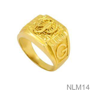 Nhẫn Nam Bọ Cạp Vàng Vàng 18K - NLM14