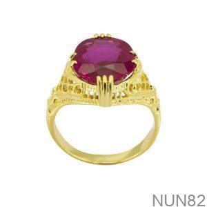Nhẫn Kiểu Nữ APJ Vàng 18k - NUN82