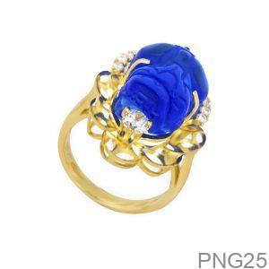 Nhẫn Nữ Vàng 18K Đính Đá CZ - PNG25