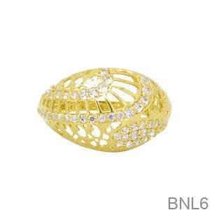 Nhẫn Nữ Vàng 18K Đính Đá CZ - BNL6
