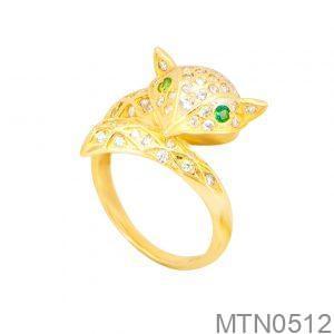 Nhẫn Nữ Vàng 18K Đính Đá CZ - MTN0512