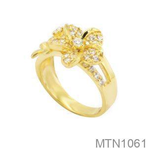 Nhẫn Nữ Vàng 18K Đính Đá CZ - MTN1061