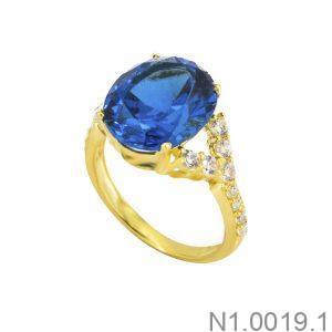 Nhẫn Nữ Vàng 18K Đính Đá CZ - N1.0019.1