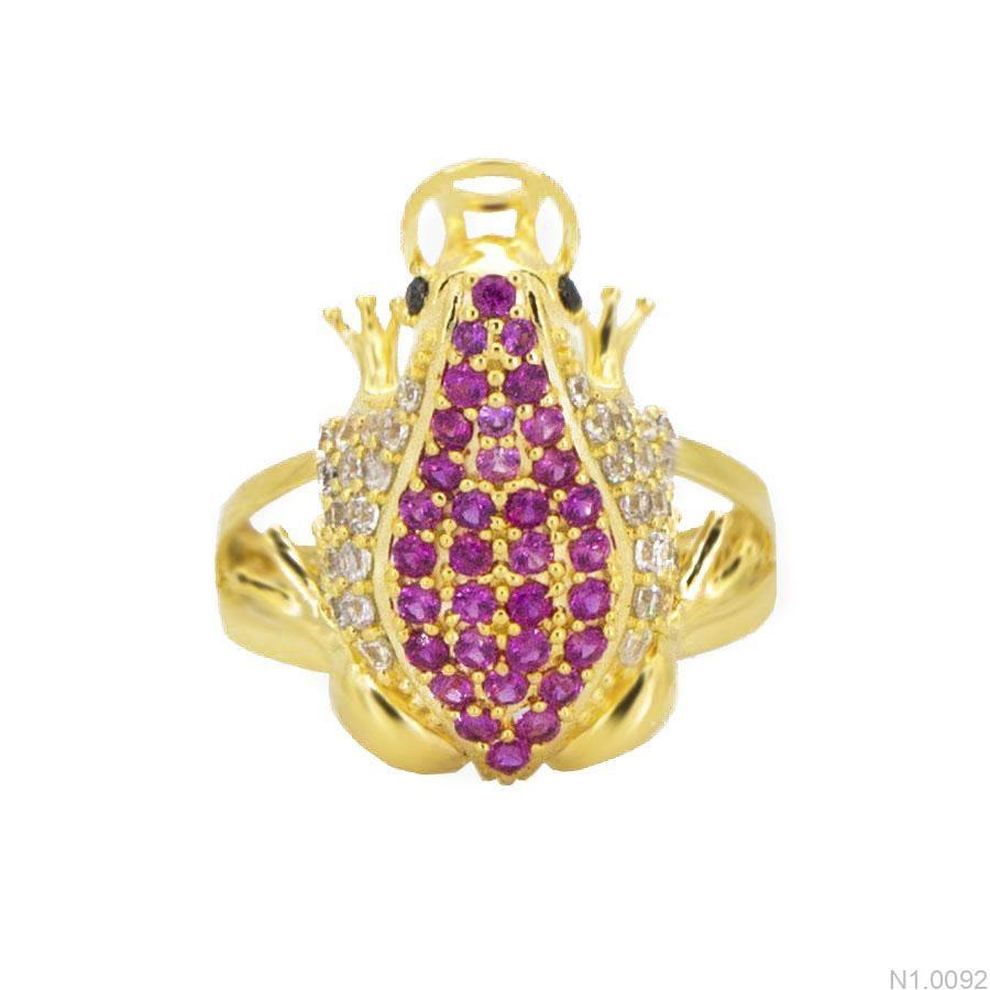 N1.0092-2 Nhẫn nữ vàng 18k con cóc