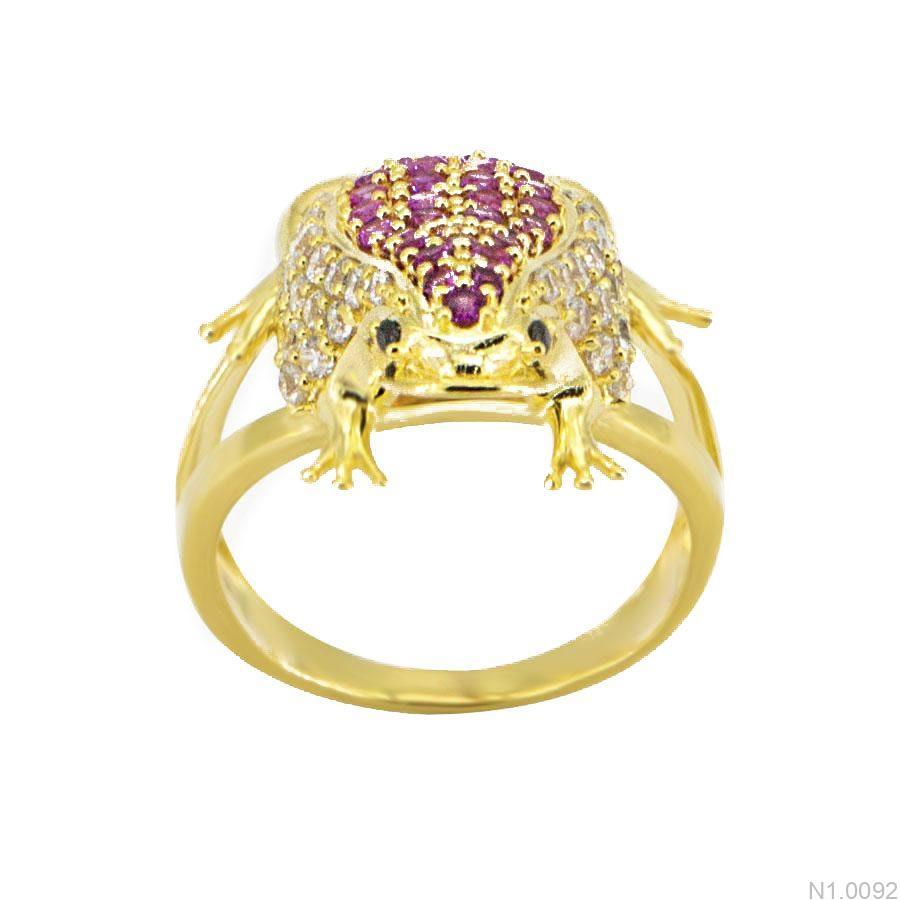 Nhẫn Nữ Vàng 18K Đính Đá CZ - N1.0092