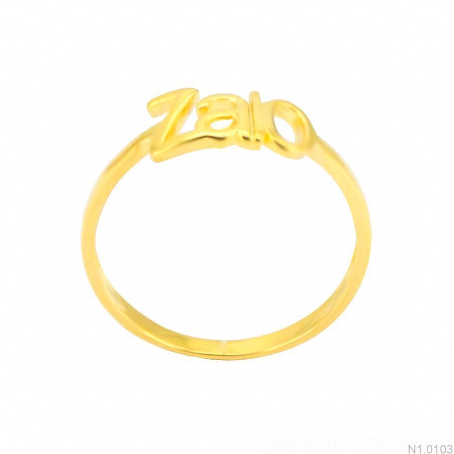 Nhẫn Nữ Vàng 18K - N1.0103