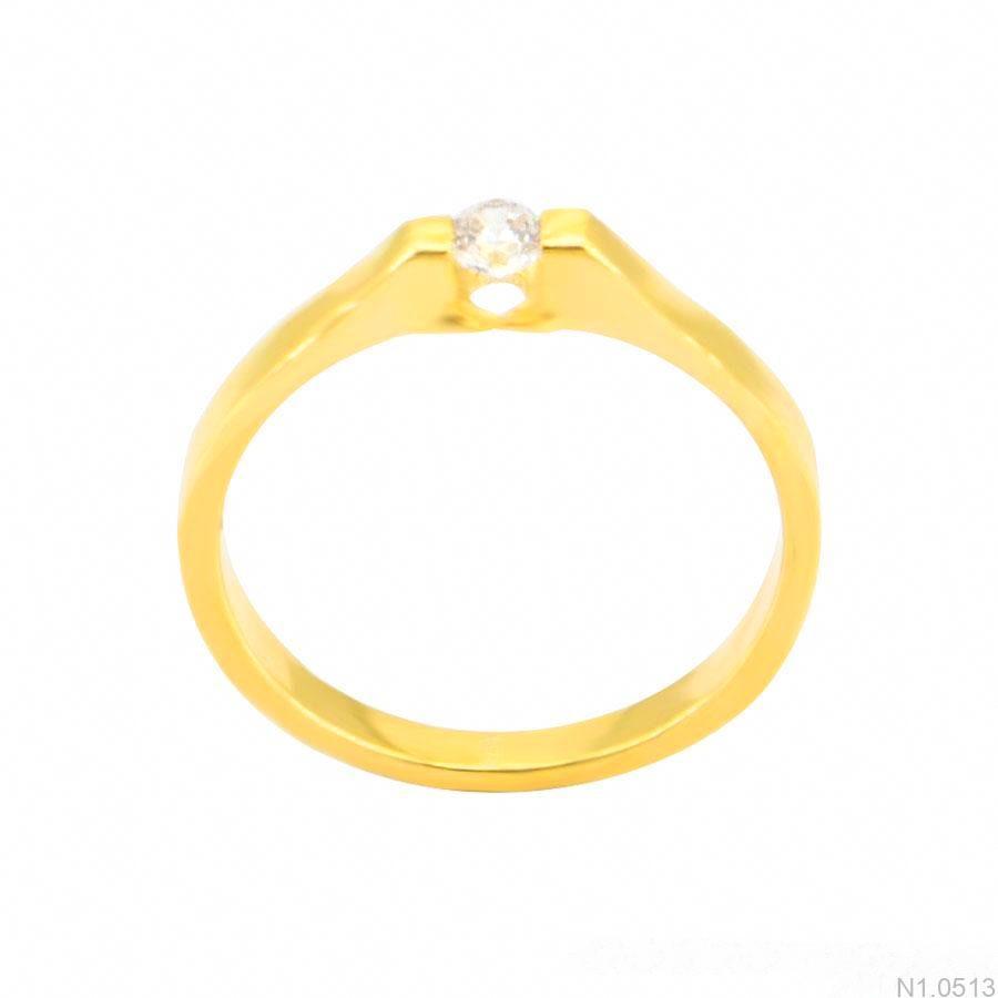 Nhẫn Nữ Vàng 18K Đính Đá CZ - N1.0513