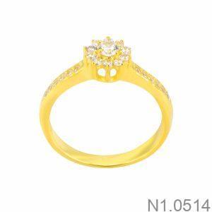 Nhẫn Nữ Vàng 18K Đính Đá CZ - N1.0514