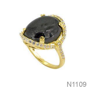 Nhẫn Nữ Vàng 18K Đính Đá CZ - N1109