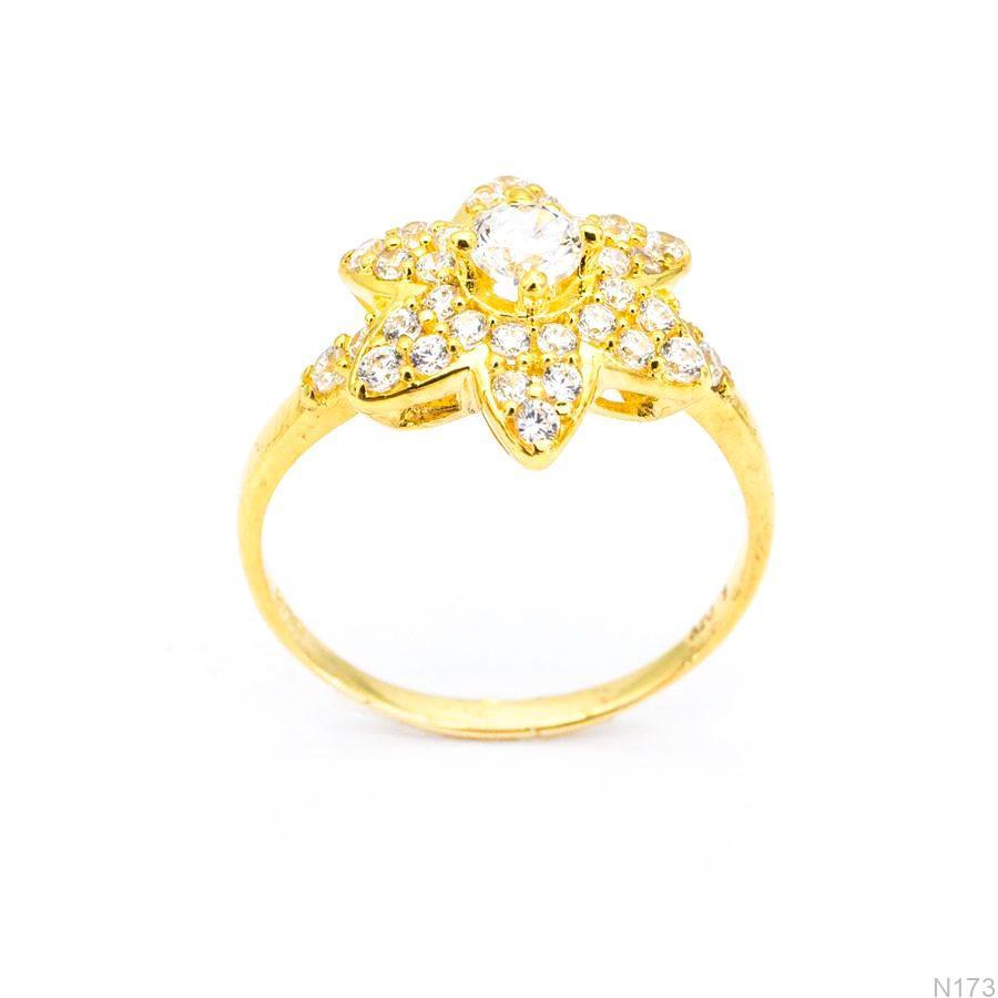 Nhẫn Nữ Vàng 18K Đính Đá CZ - N173
