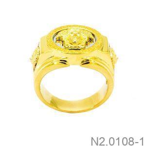 Nhẫn Nam Versace Vàng Hai Màu 18k - N2.0108-1